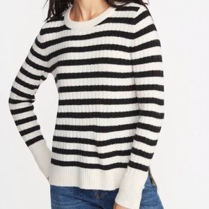 Old Navy Soft Striped Crew Neck Sweater